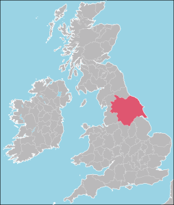 Map Yorkshire